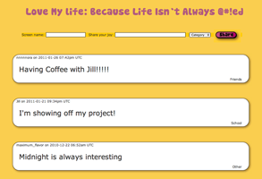 Love My Life (In MySQL & PHP)