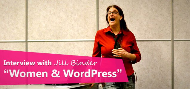Jill Binder WordPress women interview